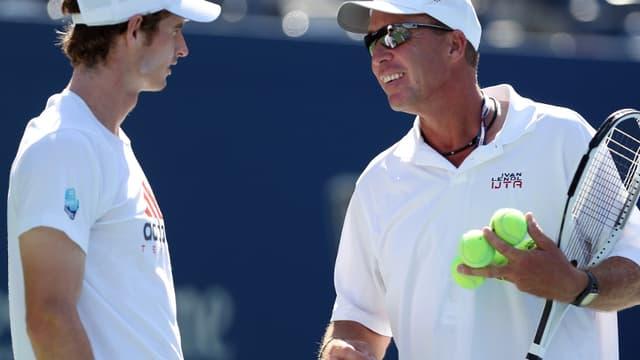 Andy Murray et Ivan Lendl