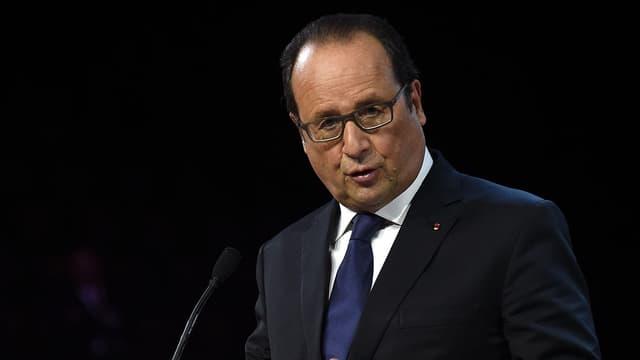 François Hollande me 24 septembre dernier lors d'un discours à Montpellier.