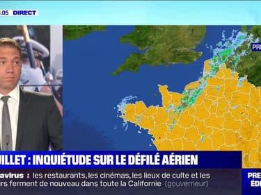 Quel temps fera-t-il à Paris lors de la cérémonie du 14-Juillet ?