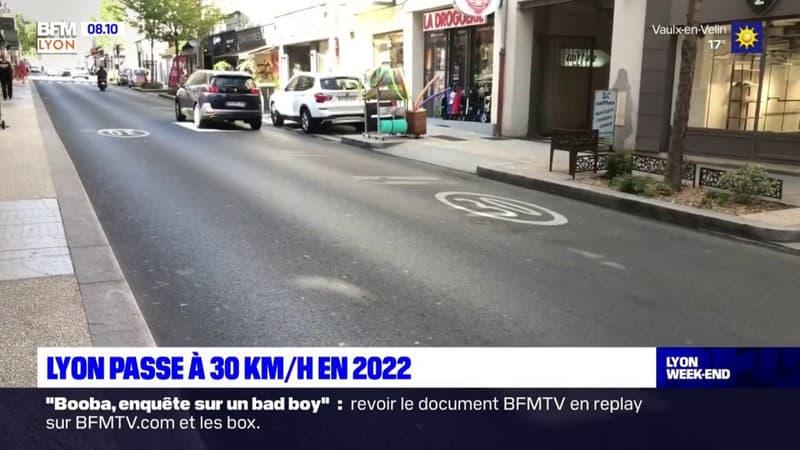 Lyon: la vitesse bientôt réduite à 30km/h