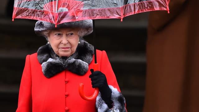 La reine Elizabeth II, le 25 décembre 2015
