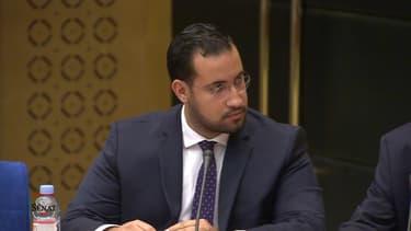 Alexandre Benalla face à la commission d'enquête du Sénat (photo d'illustration)