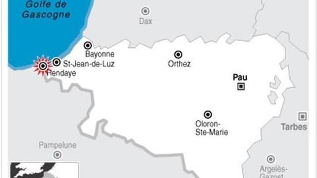 DEUX POLICIERS BLESSÉS LORS D'UN CONTRÔLE ROUTIER À HENDAYE