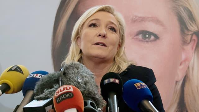 Marine Le Pen a obtenu 49,10% des suffrages à Calais.