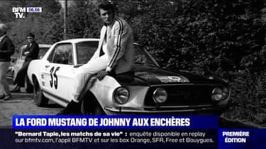 La Ford Mustang de Johnny Hallyday va être vendue aux enchères