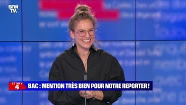 Story 3 : Mention très bien au bac pour notre reporter ! - 06/07