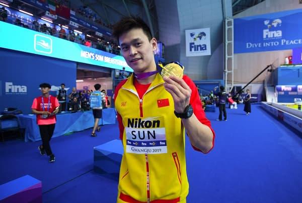 Sun Yang ne participera pas aux Jeux olympiques de Tokyo