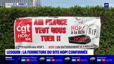 Lille-Lesquin: la fermeture du site de maintenance Hop! confirmée