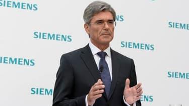 Le patron de Siemens, Joe Kaeser.