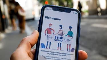 L'application de traçage numérique StopCovid est disponible.