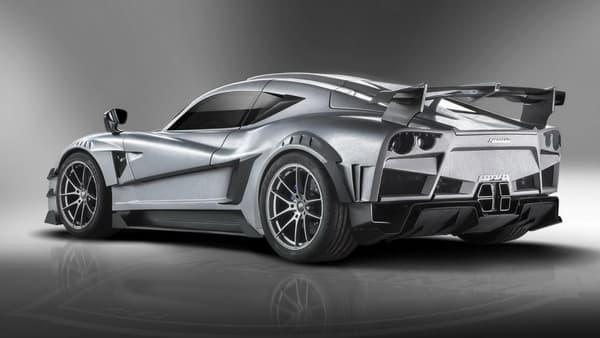 La Millecavalli est équipée d'un V8 7.2 biturbo de 1000ch, pour dépasser les 400km/h en vitesse.