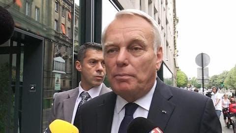 """Ayrault: """"Il faut sortir d'une certaine forme d'hypocrisie"""" sur la dette grecque"""