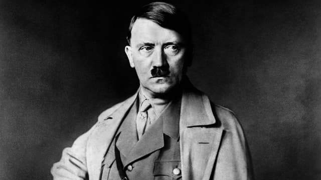 Adolf Hitler, en janvier 1933.