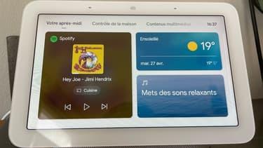 Google Nest Hub, le compagnon de la maison à installer dans sa cuisine, une chambre ou dans un salon