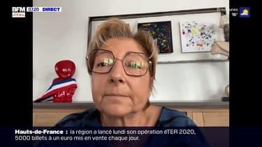 """Selon la maire de Calais Natacha Bouchart, Gérald Darmanin """"a le pouvoir de mettre des moyens supplémentaires"""" pour gérer la crise migratoire dans la ville"""