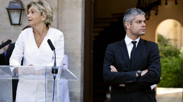 Valérie Pécresse et Laurent Wauquiez