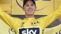 Chris Froome lors du dernier Tour de France