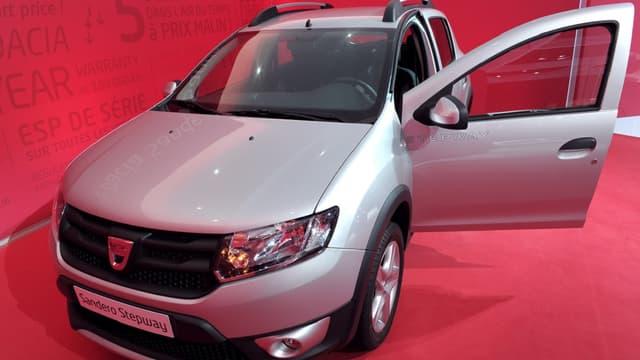 La Dacia Sandero est commercialisée depuis 2008.