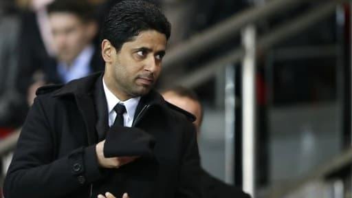 Nasser Al-Khelaïfi, le président du Paris Saint-Germain, devra composer avec les sanctions de l'UEFA.