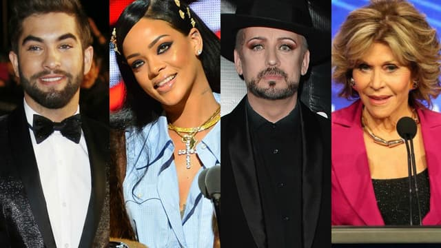Kendji Girac, Rihanna, Boy George et Jane Fonda: ils ont fait l'actu cette semaine.