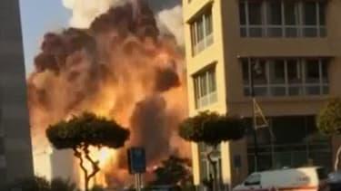 Une nouvelle vidéo témoigne de la terrible déflagration de Beyrouth