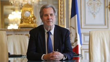 L'ex-président du Conseil constitutionnel Jean-Louis Debré, au Palais Royal à Paris, le 9 février 2016.