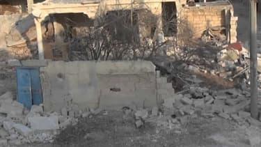 Vue de Marea, une des villes syriennes près de la frontière turque, et vers laquelle se dirige Daesh.