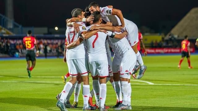 L'équipe de Tunisie