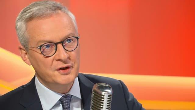 """Selon Bruno le Maire, ministre de l'Economie,  """"les cryptomonnaies posent un vrai problème de financement du terrorisme."""""""