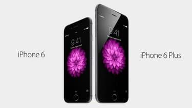 L'iPhone 6 et l'iPhone 6 Plus