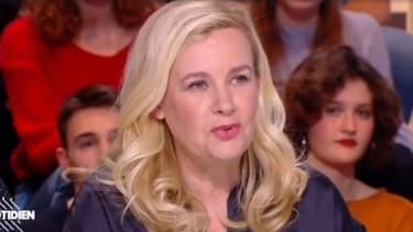 """Hélène Darroze dans """"Quotidien"""", le 1er février 2019."""