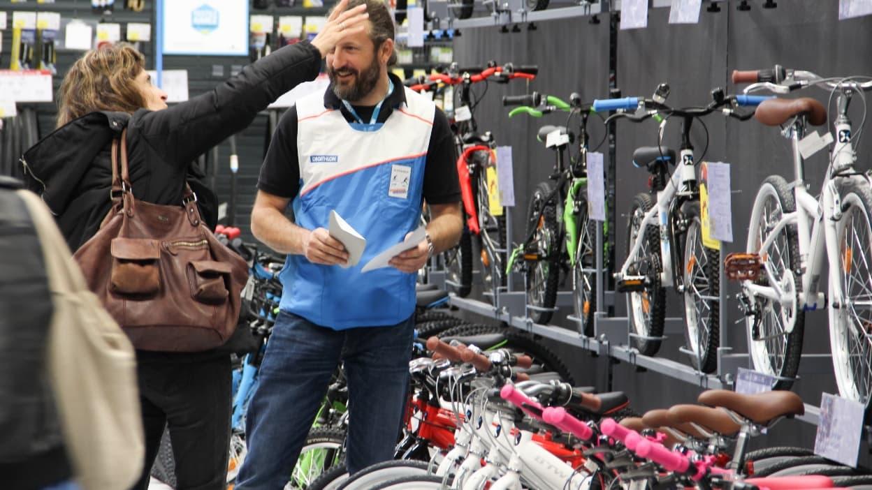 Vous pourrez bientôt avoir un vélo de fonction siglé Decathlon