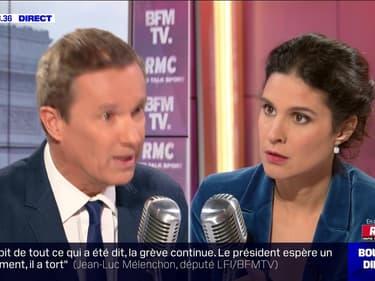 Nicolas Dupont-Aignan face à Apolline de Malherbe en direct - 23/12