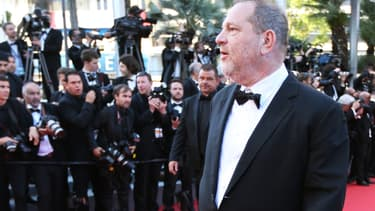 Harvey Weinstein à Cannes en mai 2015