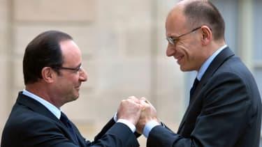 Enrico Letta et François Hollande plaident tout deux pour remettre la croissance sur le devant de la scène européenne