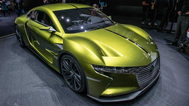 DS présente au salon de Genève 2016 son manifeste automobile, le concept E-Tense, une GT électrique de 400ch.