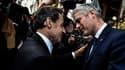 Nicolas Sarkozy et Laurent Wauquiez