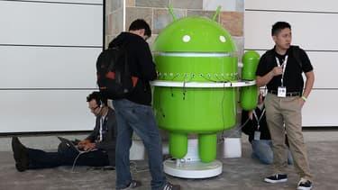 Android a une part de marché de plus de 80% dans le monde (image d'illustration)