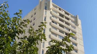 Un immeuble de la cité Berthe, à la Seyne-sur-Mer (Var), en octobre 2021.