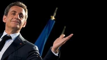 Nicolas Sarkozy, le 11 mai 2015.