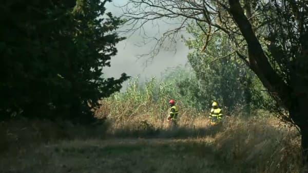 300 pompiers sont toujours mobilisés pour éteindre le feu
