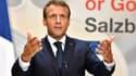 Emmanuel Macron à Salsbourg, en Autriche, le 20 septembre.