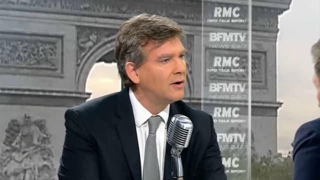 Arnaud Montebourg était l'invité de BFMTV et RMC lundi 26 septembre.