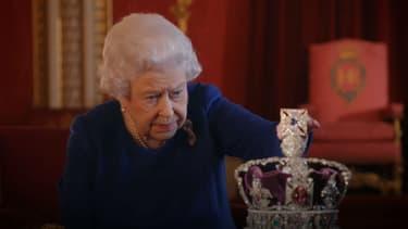"""La reine Elizabeth II dans le documentaire """"Le couronnement"""", diffusé le 14 janvier 2018"""