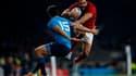 Yoann Huget au moment de sa blessure contre l'Italie