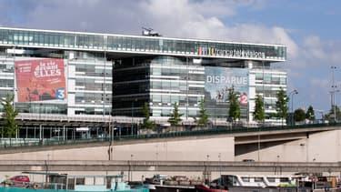 Le siège parisien de France Télévisions, 9 mai 2015