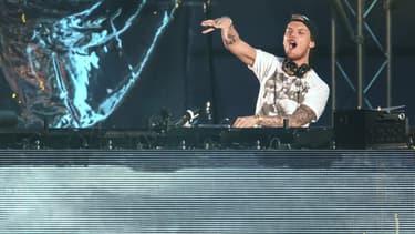 Le DJ Avicii en Suède en mai 2015