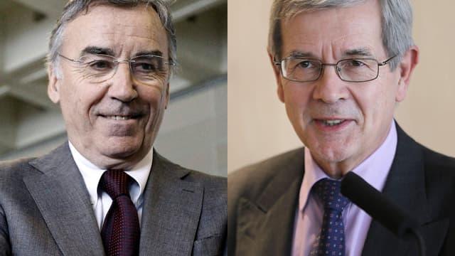Pierre Blayau (à gauche) pourrait être remplacé par Philippe Varin (à droite), ex-patron de PSA