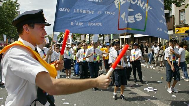 Air France est engagée depuis des années auprès des militants LGBT, notamment via son association interne, Personn'ailes.