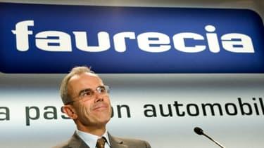Yann Delabrière, PDG de Faurecia, voit le titre du groupe chuter en Bourse
